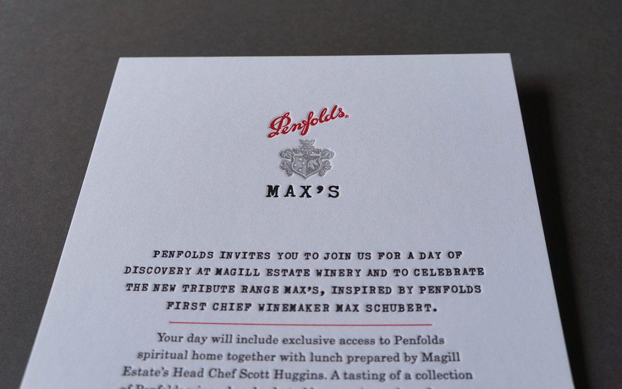 Letterpress-invitation-penfolds-wine