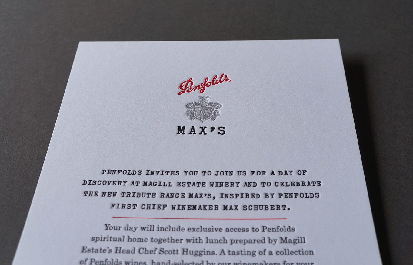Letterpress-invitation-penfolds-wine