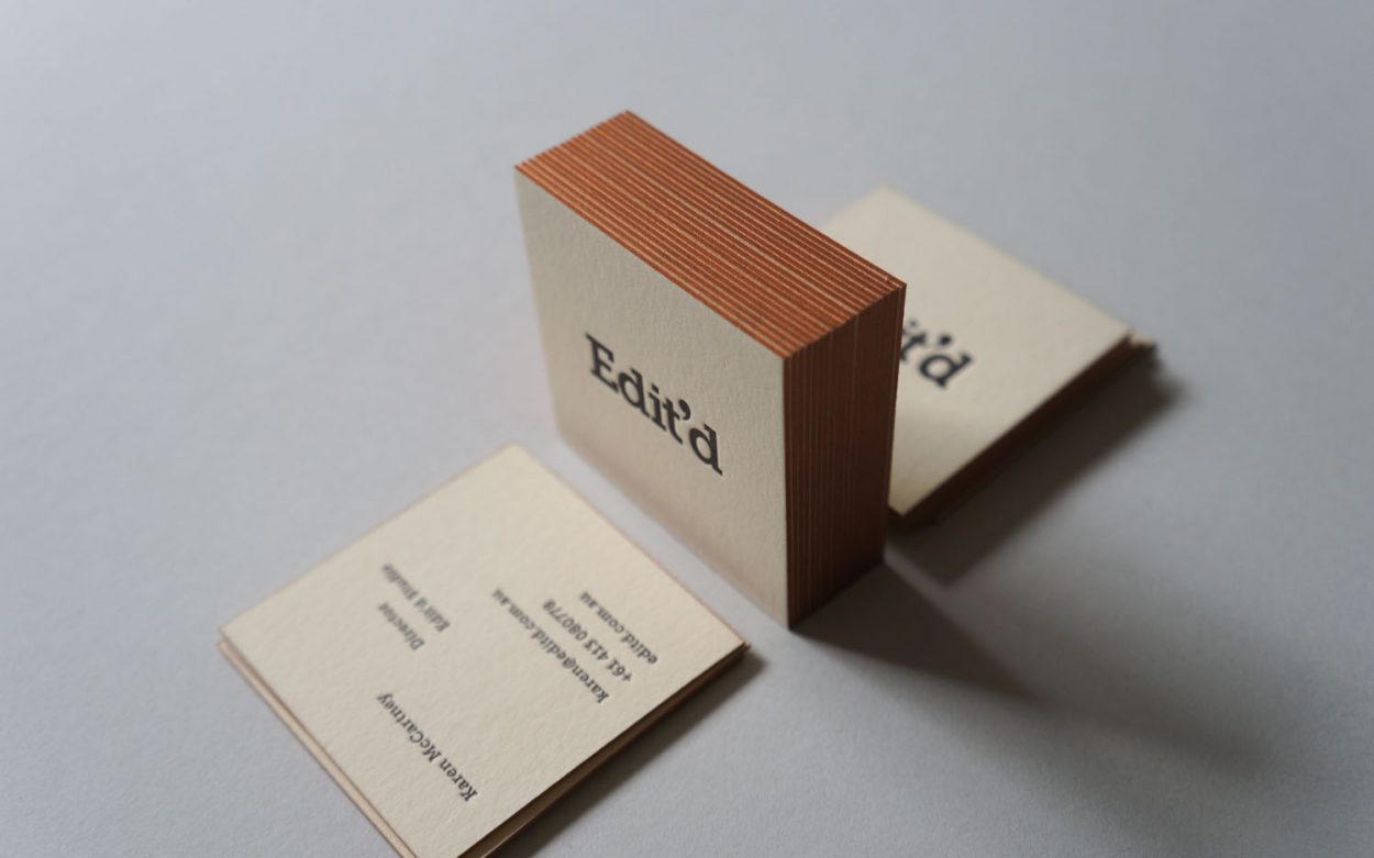 Business Cards Archives - Crafted by D&D Letterpress