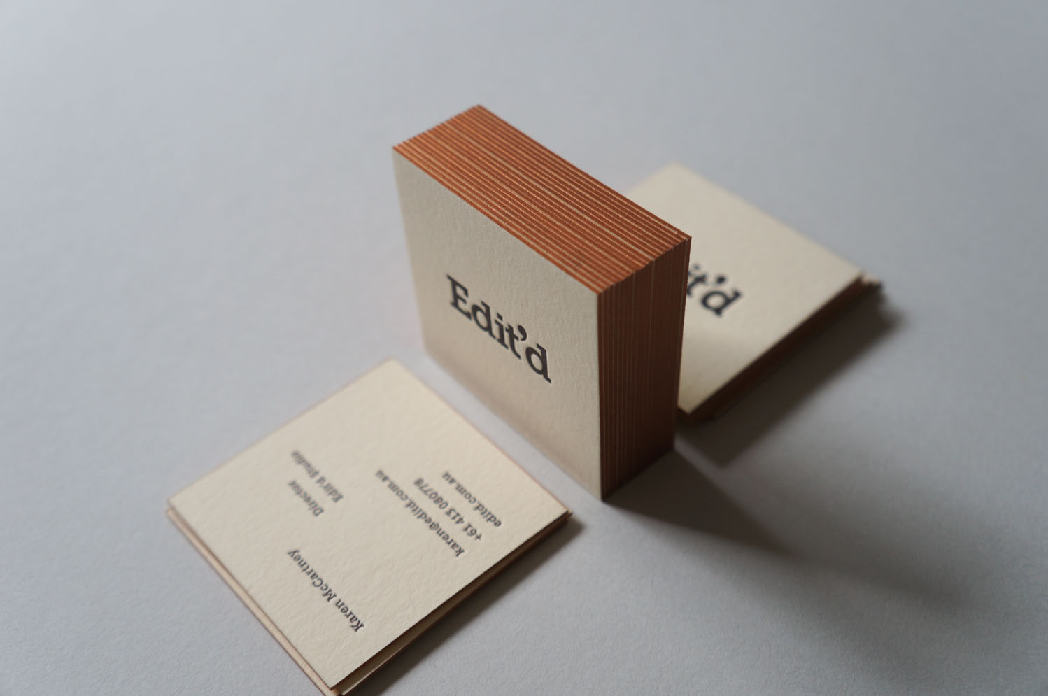 Edit\'d Cards - Crafted by D&D Letterpress