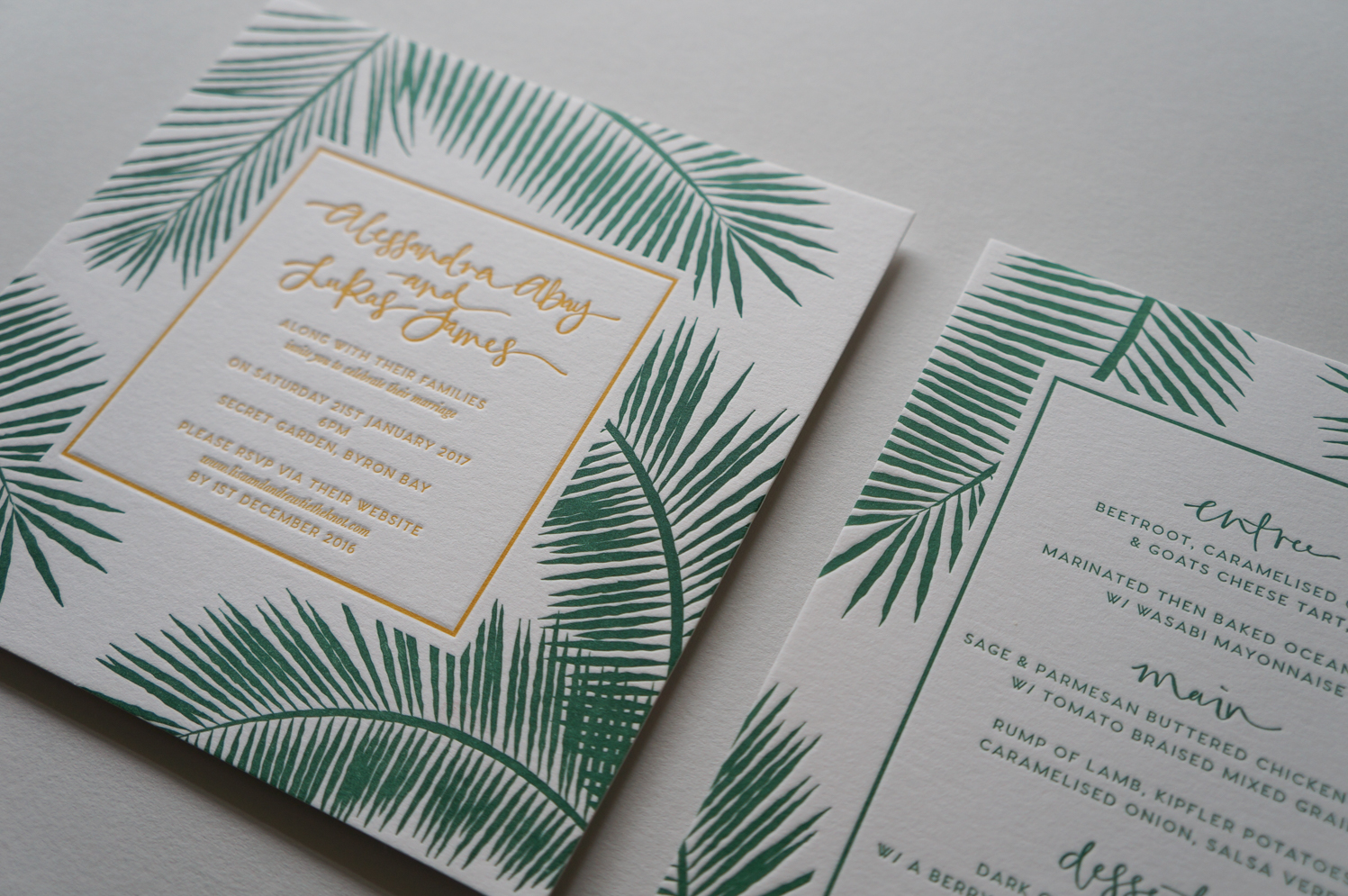 letterpress-invitations-byron-bay-foliage-green-palm-leaves-8