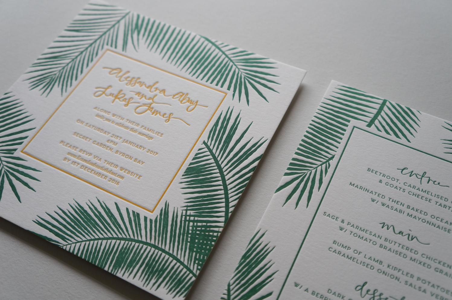 letterpress-invitations-byron-bay-foliage-green-palm-leaves-8