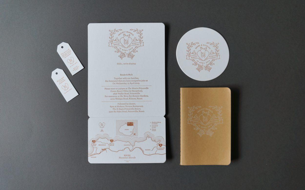 letterpress wedding invitations hawaii - 28 images - letterpress ...