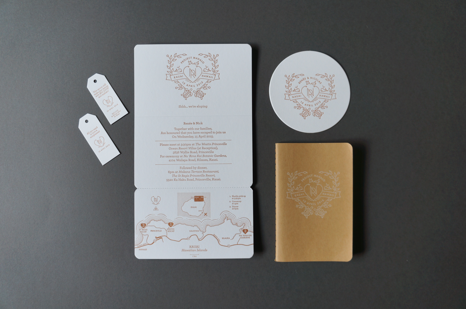 Letterpress-wedding-invitations-byo-elopement-hawaii