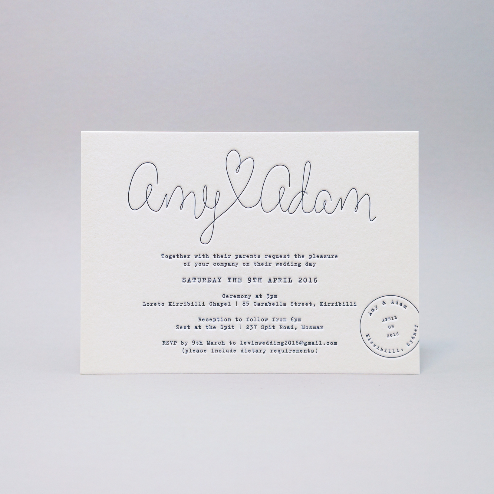 Letterpress-wedding-invitations-amy+adam-navy