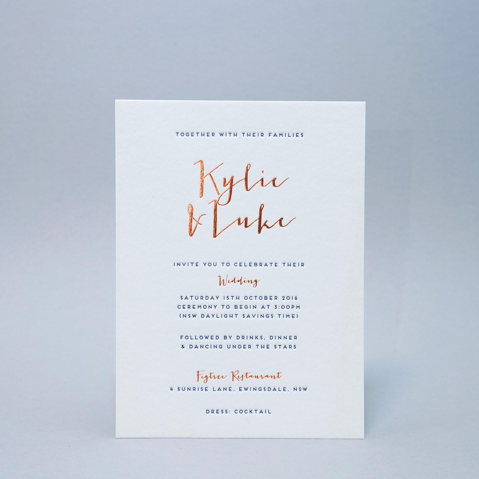 Letterpress-wedding-invitations-copper-foil-navy-1