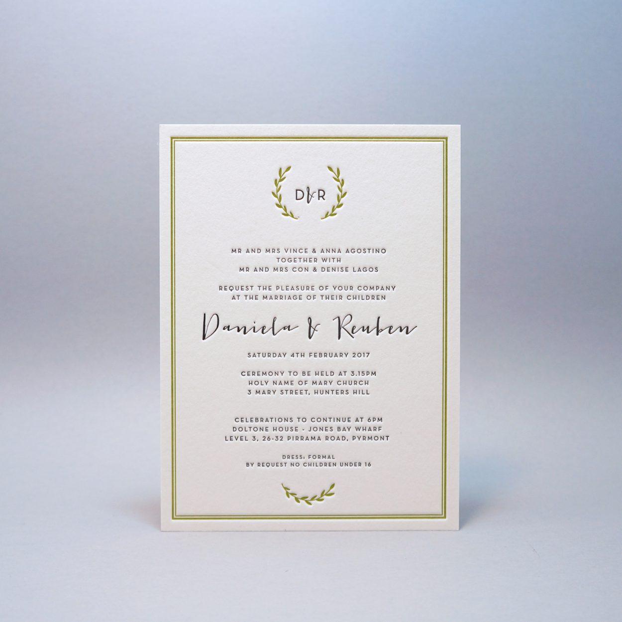 Letterpress-wedding-invitations-green-cordenons-wild lettra-wreath