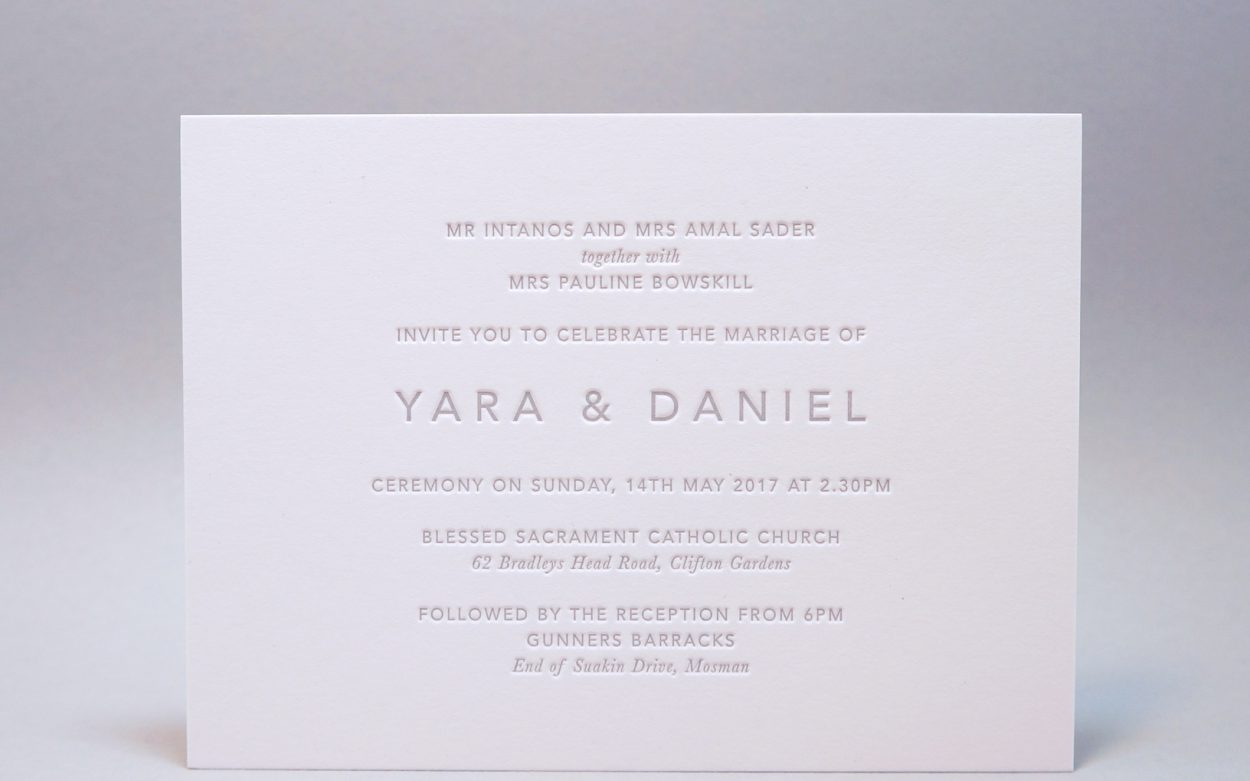 Typographic Archives - Crafted by D&D Letterpress